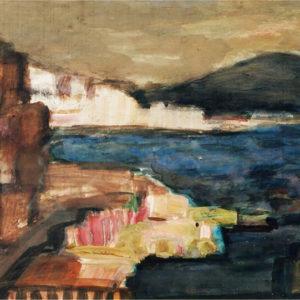 Neapole, tempera, 50x35cm, 1975 (aprox)