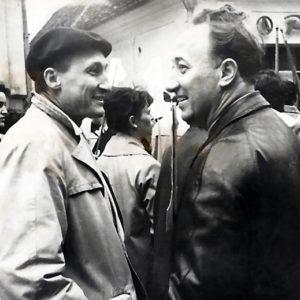 1964 - 1 Mai cu Ladislau Feszt si Emil Cornea