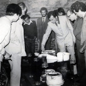 1983 - Comisie examen de diploma Sectia ceramica