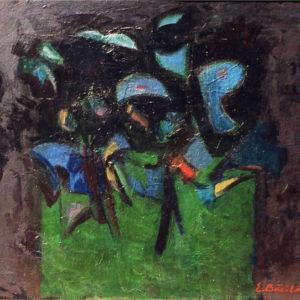 Deruta, Ciclul S.O.S Poluare, ulei pe carton, 60x50cm, 1986 (aprox)