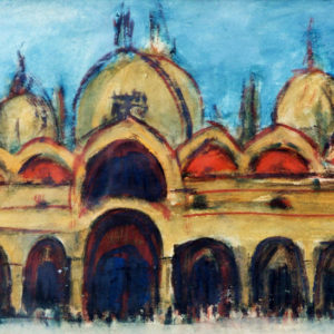 15San Marco, tempera, 35 x 50 cm, not signed, undated (ca. 1975)