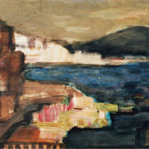 19Napoli, tempera, 35 x 50 cm, not signed, undated (ca. 1975)