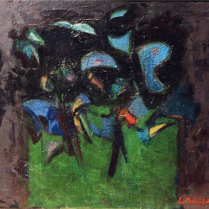 32Confussion, oil on paperboard, 50 x 60 cm, signed, undated (ca. 1986)
