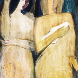 Purity, tempera, 100 x 70 cm, not signed, undated (1980-90)