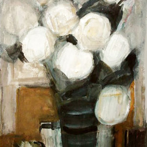 6Flowers, tempera, 50 x 35 cm, signed, 1979
