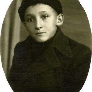 Emil Băcilă pupil in Blaj, 1940